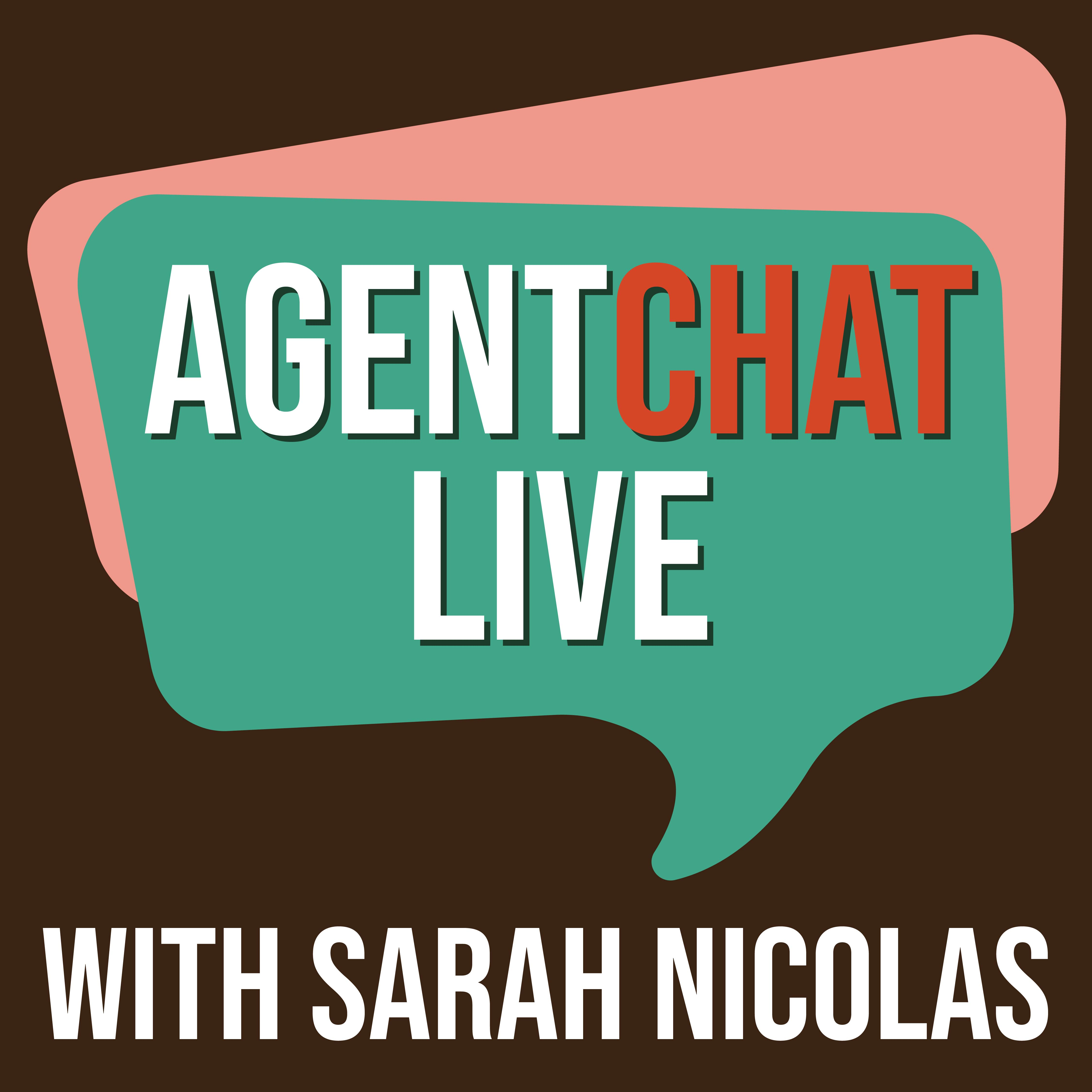Agent Chat Live podcast logo